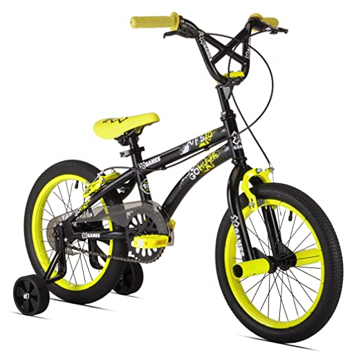 20495719391 This sleek ride features a BMX seat and front pegs to help little  tricksters nail all their moves. It features both front hand and rear  coaster brakes to ...