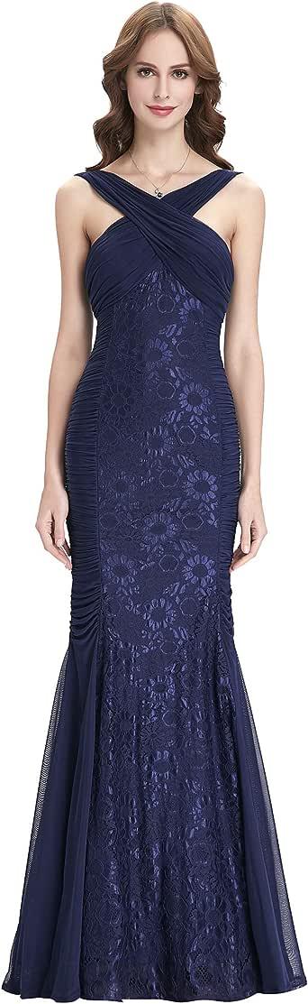 Amazon.com: Women Ruched Bodice Sleeveless Wedding Dress