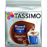 TASSIMO Cappuccino Chocolat Maxwell 8 Disc - Lot de 5 (40 Disc)