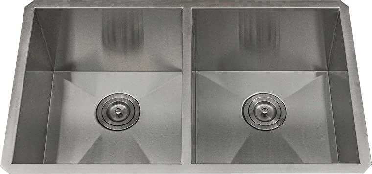 KABCO 16 Gauge Stainless Steel Kitchen Sink Undermount 32 Inch