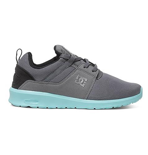 DC ShoesHeathrow J - Zapatillas de Deporte Mujer, Gris (Gris (Grey/Black