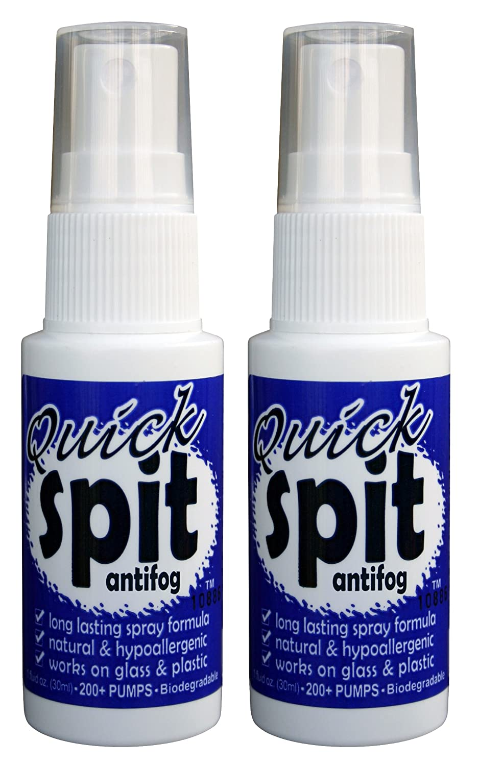 1. Just Add Water Jaws Quick Spit Antifog Spray