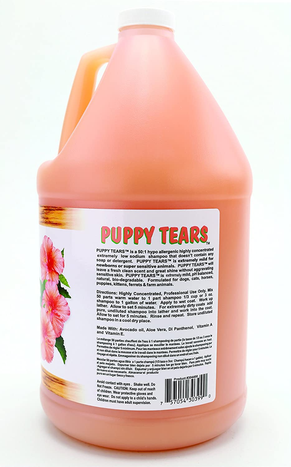 Pet Tearless Shampoos : Amazon.com: Kelco 50:1 Puppy Tears Shampoo Gallon