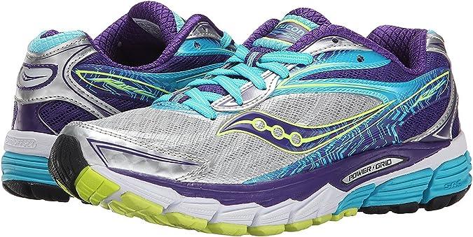 Saucony Ride 8, Zapatillas de Running para Mujer, Multicolor (Silver/Purple/Blue), 37 EU: Amazon.es: Zapatos y complementos
