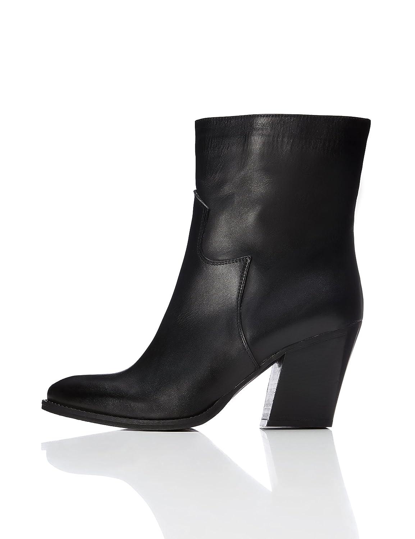 Schwarz(schwarz 01) FIND Cowboystiefel Damen Damen Damen aus Leder mit rahmengenähter Sohle  100% nagelneu mit ursprünglicher Qualität