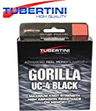 Tubertini UC 4 Gorilla Schnur 350m - Monofile Angelschnur zum Forellenangeln, Monoschnur zum Angeln auf Forelle, Forellenschnur