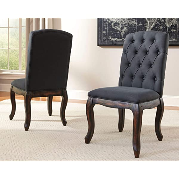 Ashley Furniture Signature Design - Trudell Dining Room Chair - Pine Wood - Set of 2