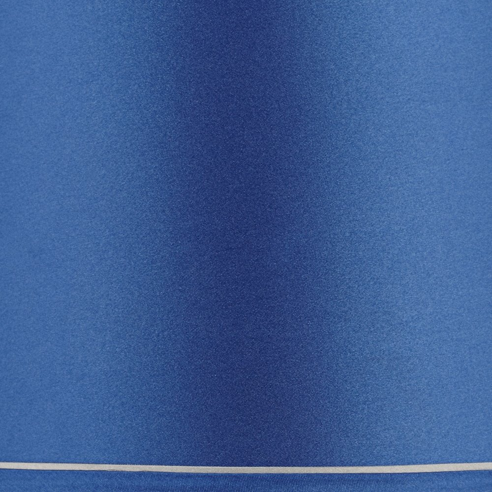 Sydnee Satin Medium Blue Drum Lamp Shade 14x16x11 (Spider) by Brentwood (Image #4)
