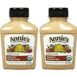 Annie's Homegrown Organic Honey Mustard, 9 oz, 2 pk