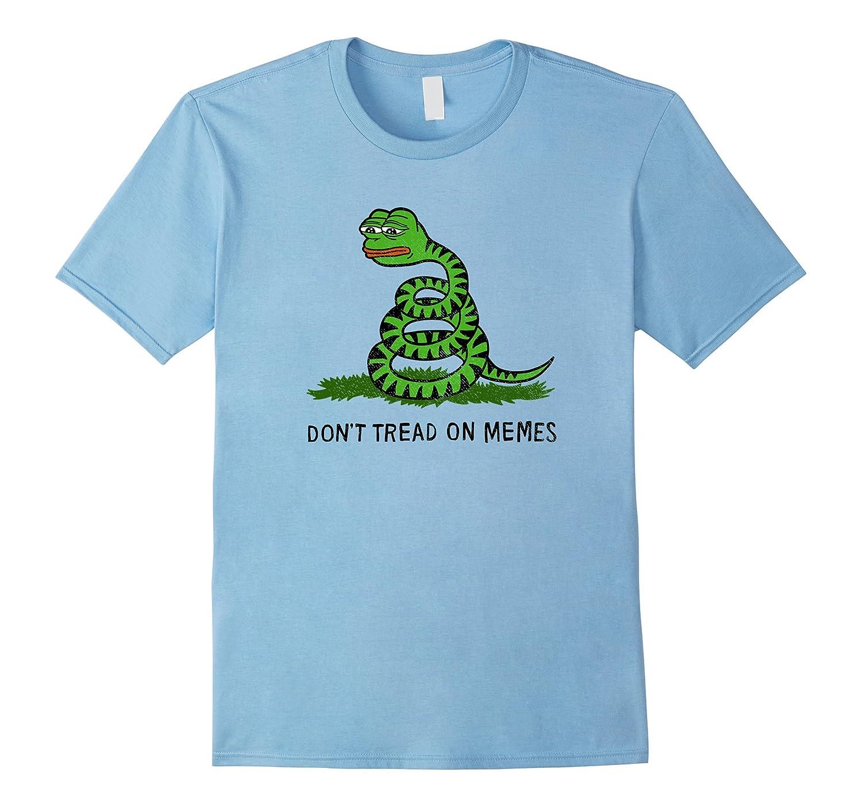 Don't Tread On Memes T-Shirt-Art