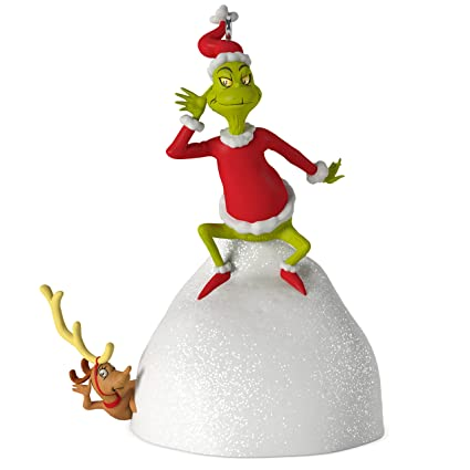 hallmark keepsake 2017 dr seusss how the grinch stole christmas welcome christmas musical christmas - Hallmark Christmas Decorations 2017
