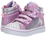 Skechers Kids Girls' TWI-Lites-Miss Holla-Glam