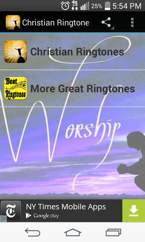 Free worship ringtones