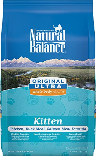 Natural Balance Original Ultra Whole Body Health Dry Kitten Food