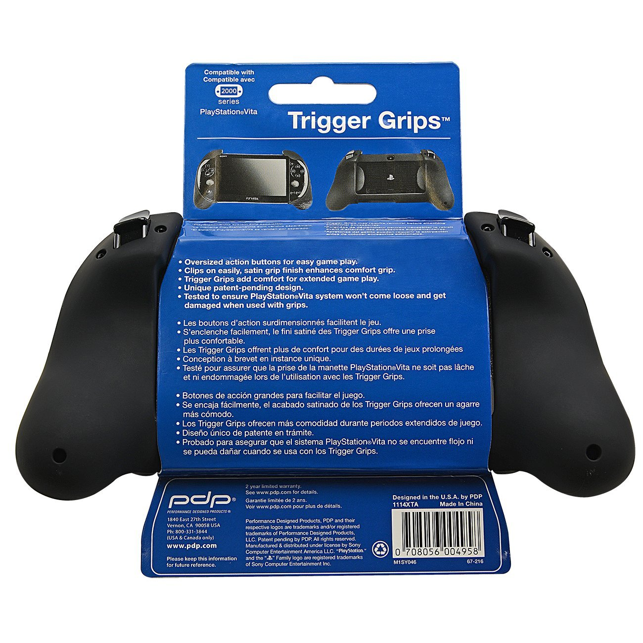 PS Vita 2000 Trigger Grip - Black by PDP (Image #8)
