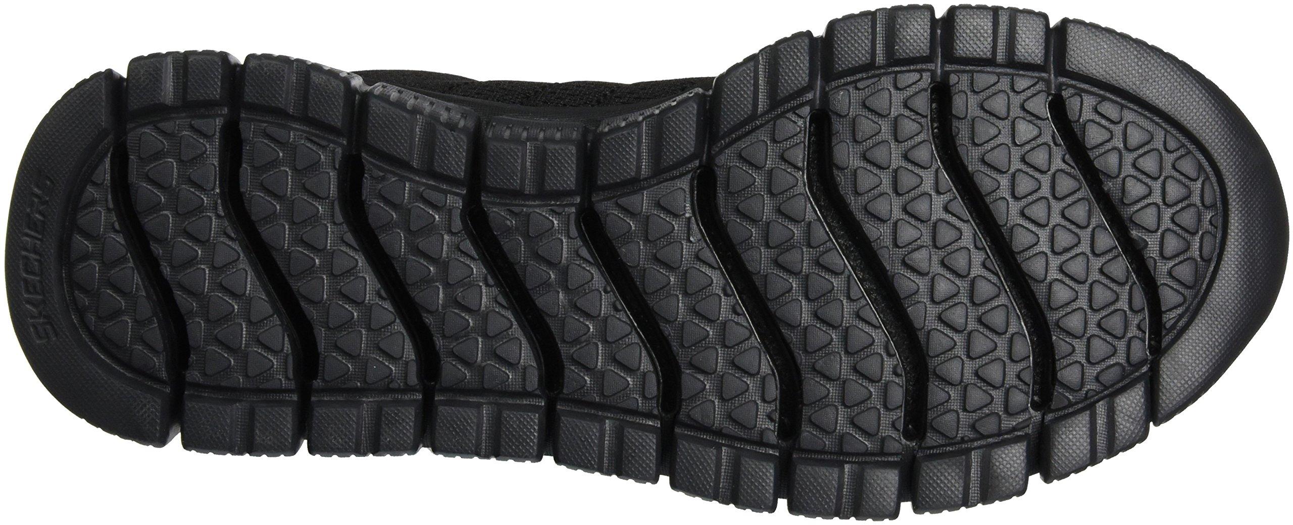 Skechers Sport Men's Skech Flex 2.0 Milwee Fashion Sneaker,Black,9 M US by Skechers (Image #3)