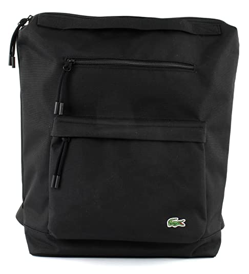 Lacoste Neocroc Tote Backpack Black