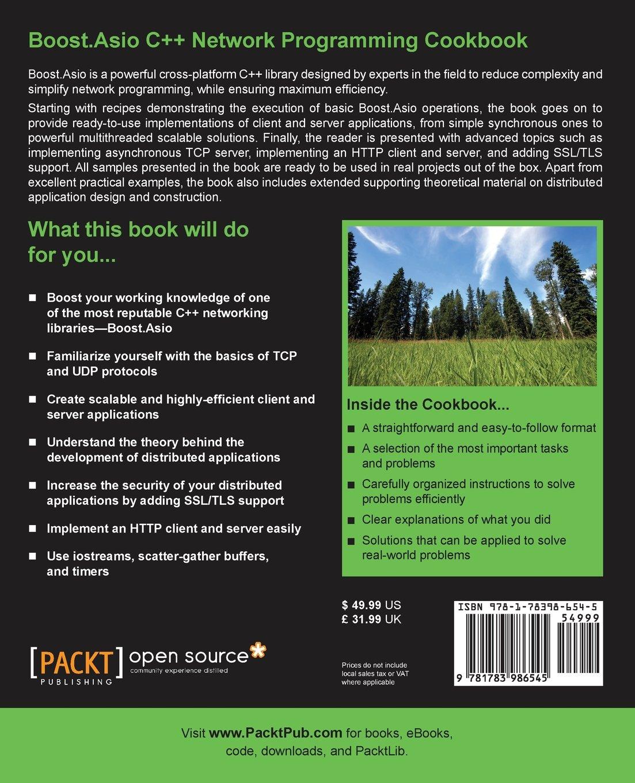 Boost Asio C++ Network Programming Cookbook: Dmytro Radchuk