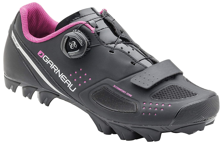 Louis Garneau – Women 's Granite II Cycling Shoes B0741FX6JV 41|ブラック ブラック 41