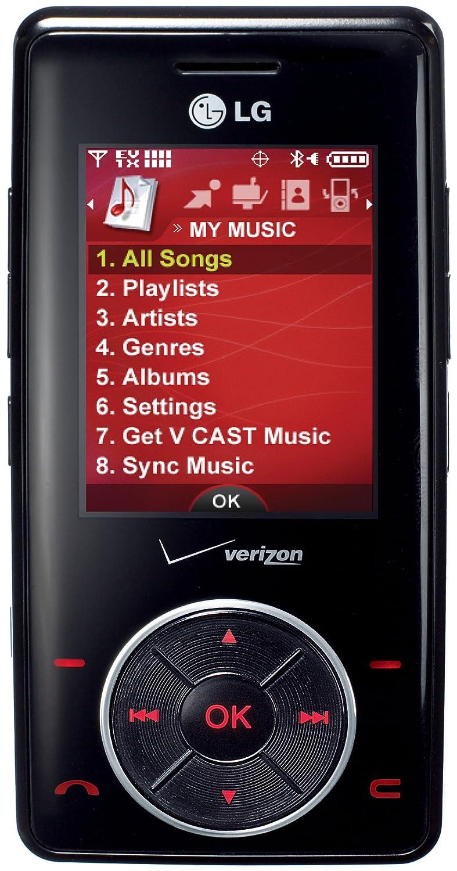 Amazon.com: LG Chocolate VX8500 Phone, Black (Verizon Wireless ...