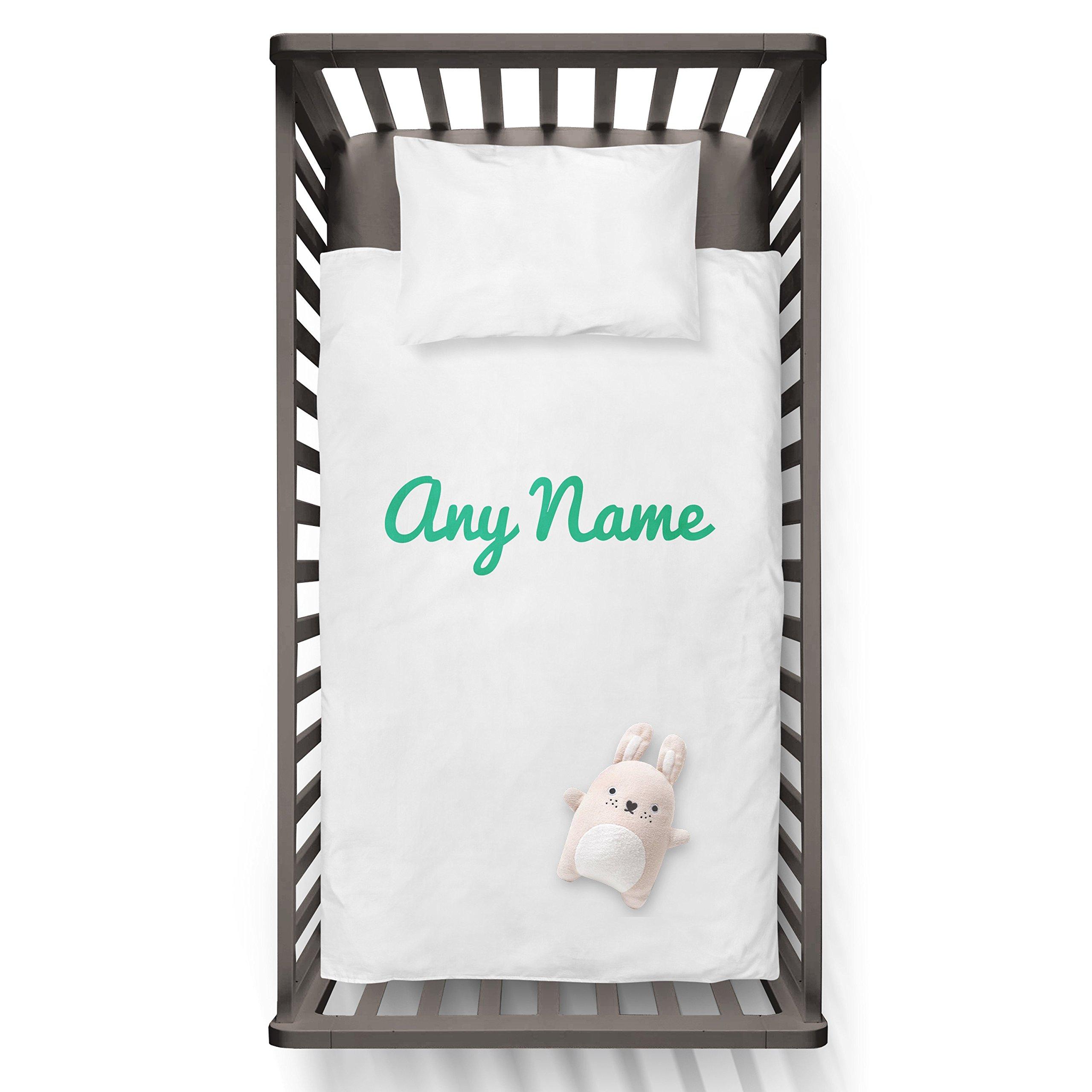 Any name Funny Humor Hip Baby Duvet /Pillow set,Toddler Duvet,Oeko-Tex,Personalized duvet and pillow,Oraganic,gift