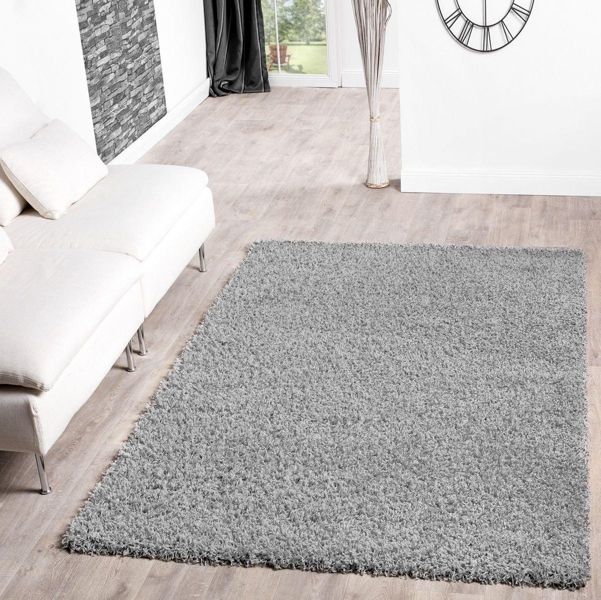 T&T Design Alfombra Shaggy De Pelo Largo para Salón A Precio Inmejorable, Größe:160x220