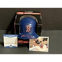 $69 » Jarren Duran Boston Red Sox Autographed Signed Mini Baseball Helmet BECKETT ROOKIE COA