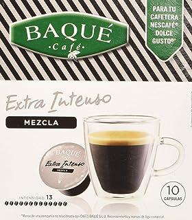Cafés Baqué, Cápsulas de café (Con leche, compatible con ...