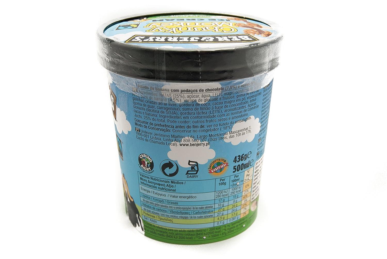 Ben & Jerrys Chunky Monkey Helado 500ml: Amazon.es: Alimentación y bebidas