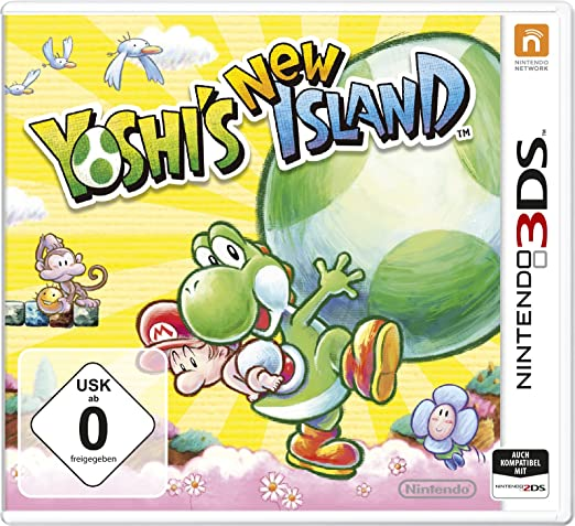 Yoshi´s New Island, 3DS