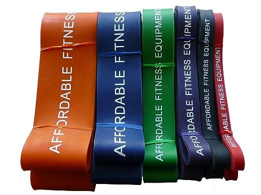191 opinioni per Resistenza Band Per Energia Sollevamento- Crossfit- Pull up- 15 a 80kg (Blu)