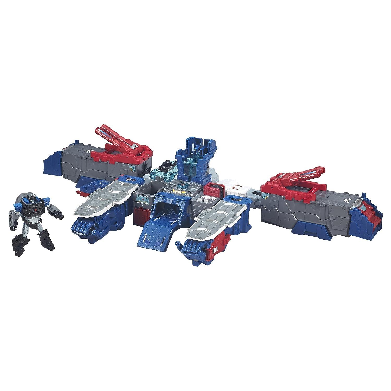 Transformers Generaciones Titans Retorno Titan Clase Fortaleza Maximus: Amazon.es: Juguetes y juegos