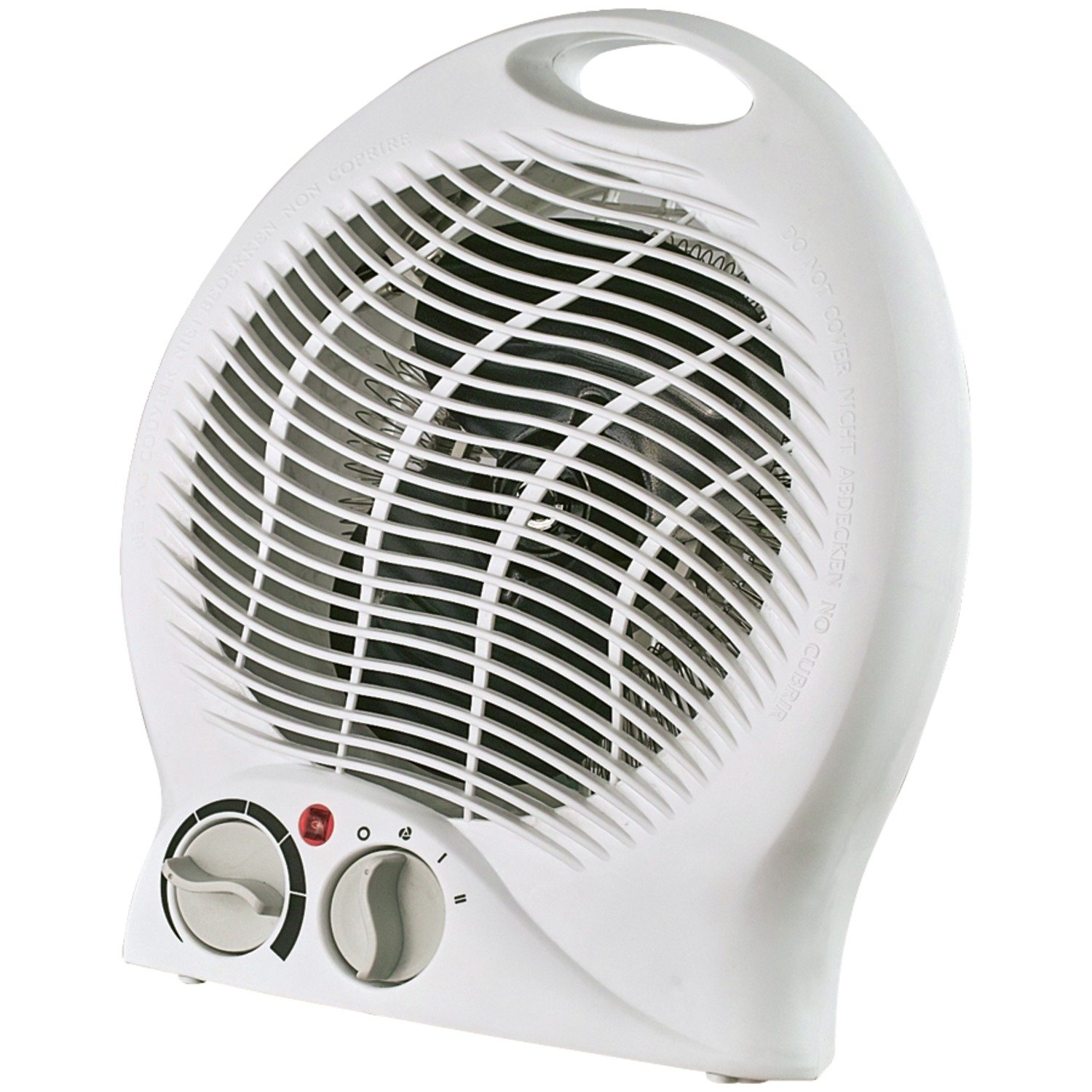 Optimus H-1322 Portable 2-Speed Fan Heater with Thermostat by Optimus