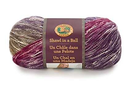 Amazon Lion Brand Yarn 828 202 Shawl In A Ball Yarn Calming Desert