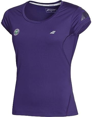 04dc256825a Babolat Performance Outerwear Wimbledon Cap Sleeve, Womens, Performance  Wimbledon Capsleeve Women