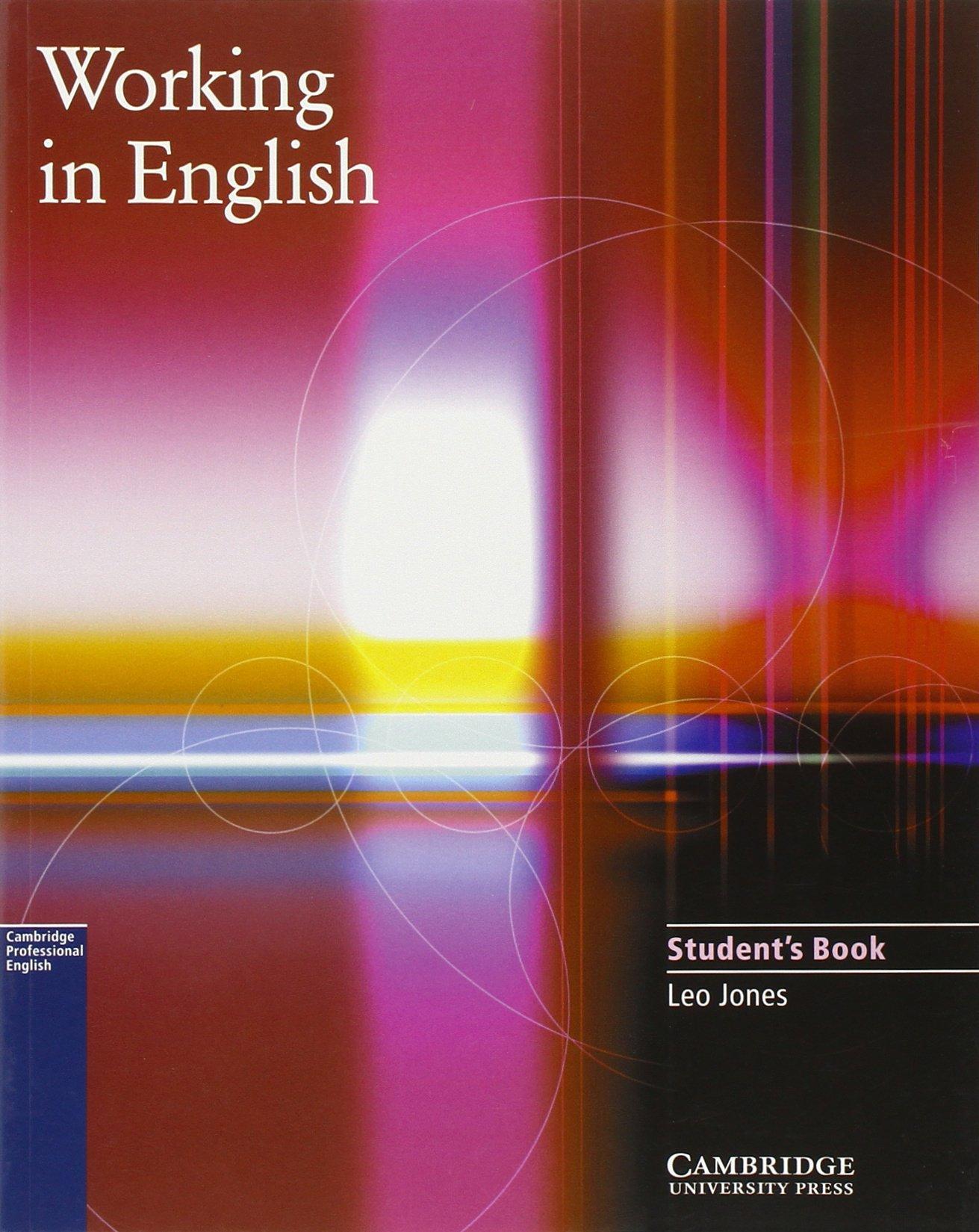 Working In English Amazonde Leo Jones Fremdsprachige Bücher