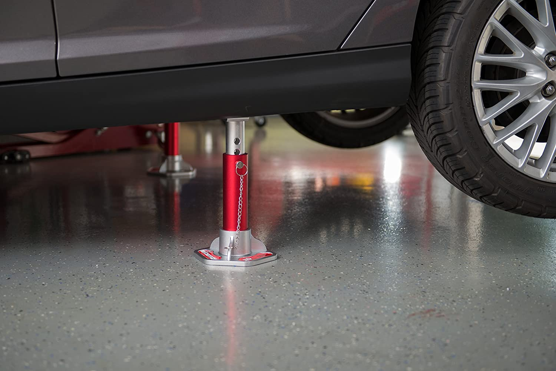 3 Ton Capacity 1 Pair Torin Big Red Aluminum Jack Stands