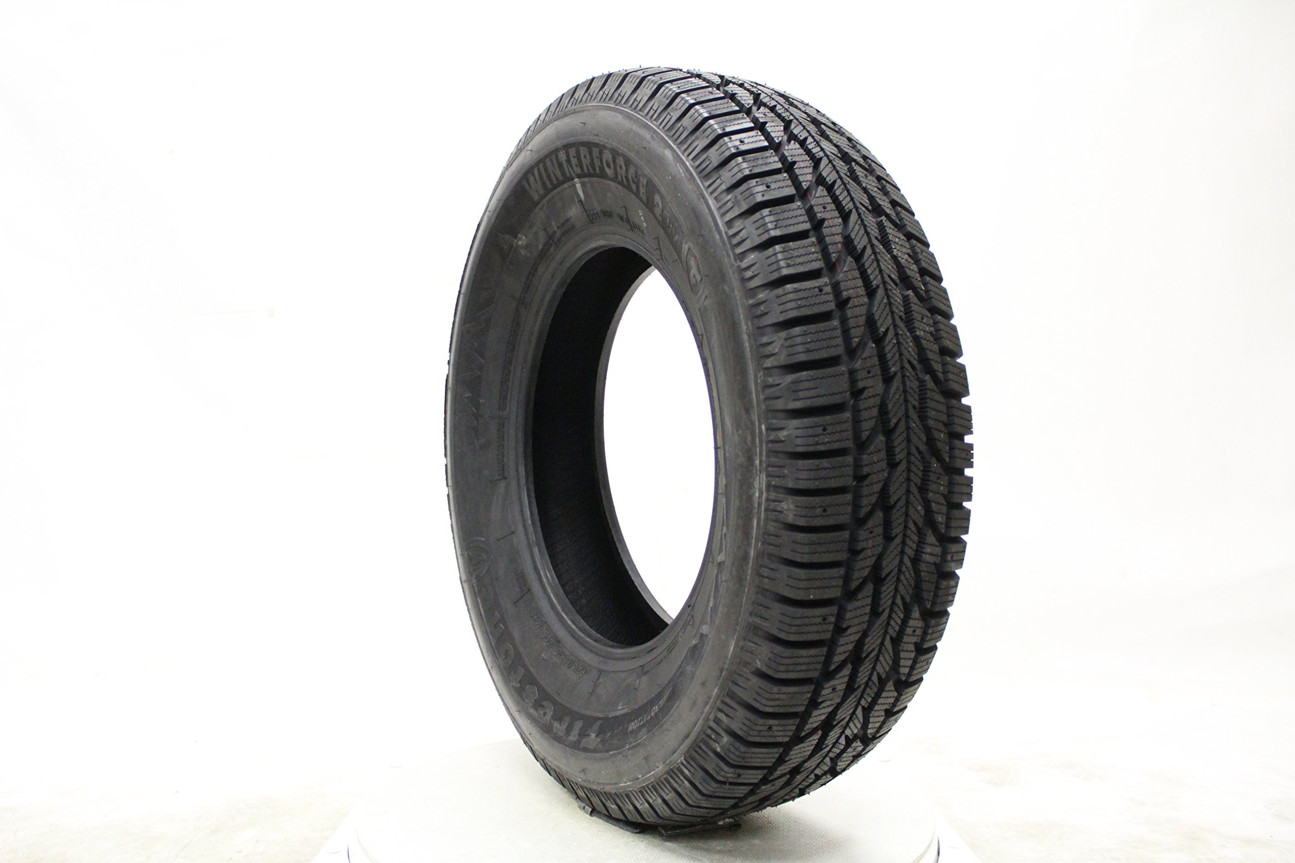 Firestone Winterforce 2 UV Studable-Winter Radial Tire - 225/65R17 102S by Firestone