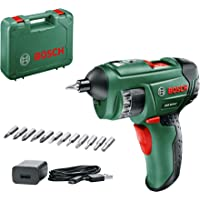 Bosch 603977041 PSR Select Cordless Screwdriver with Integrated 3.6 V Lithium-Ion Battery