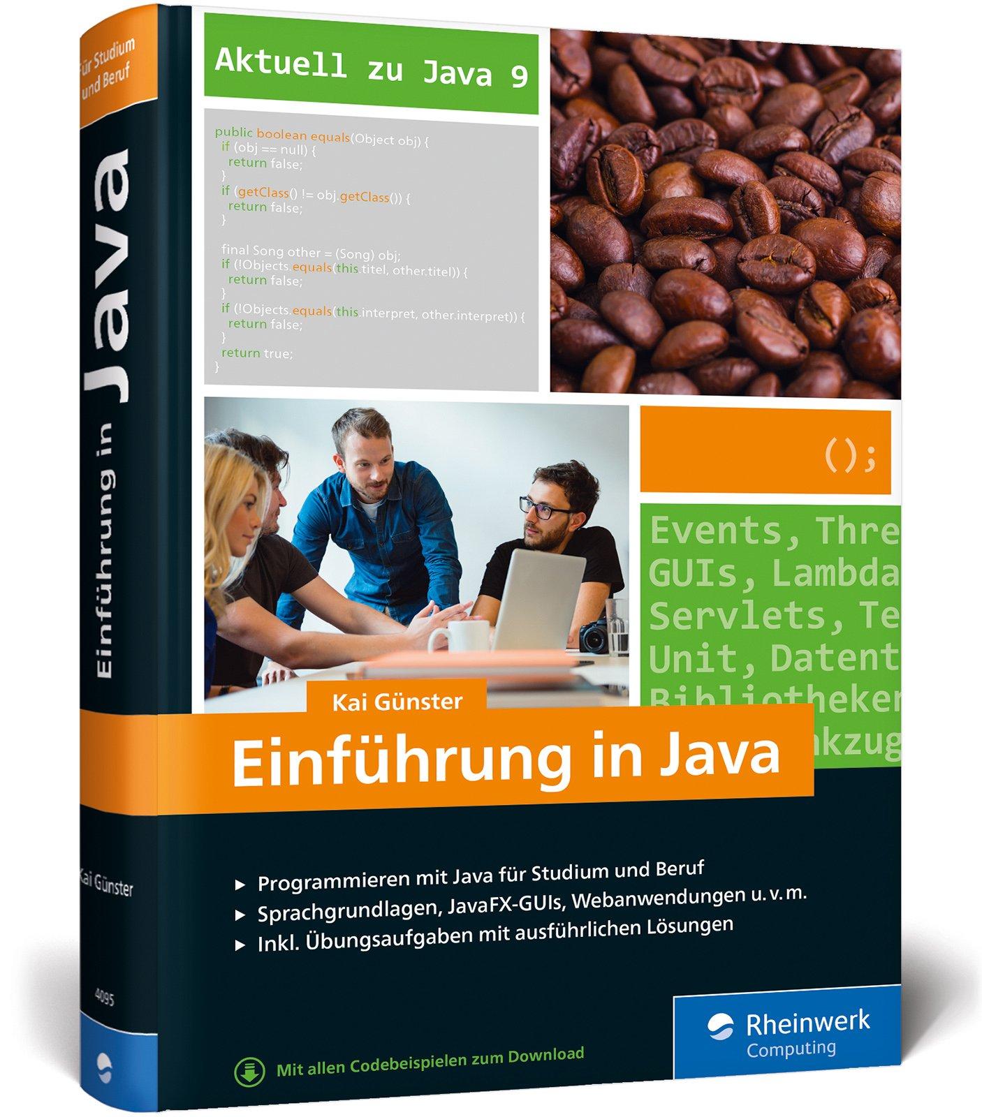 Einführung in Java: Ideal für Studium, Ausbildung und Beruf ...
