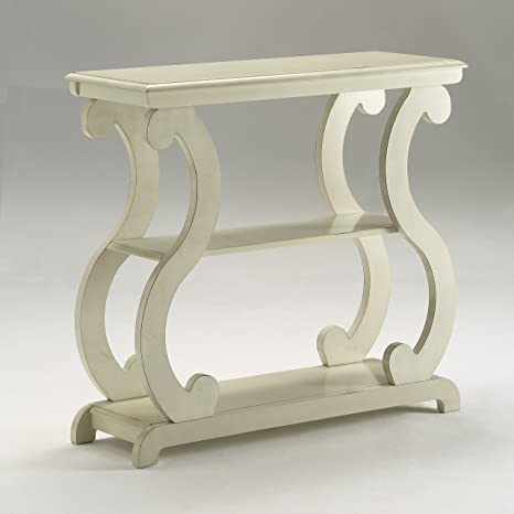 more photos 6204a ce9c4 Crown Mark Lucy Table Ivory, Console