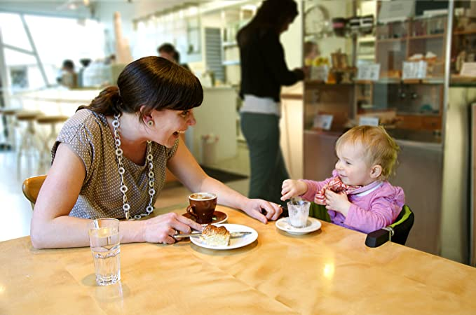 Amazon.com: Silla alta para bebés con abrazaderas ...