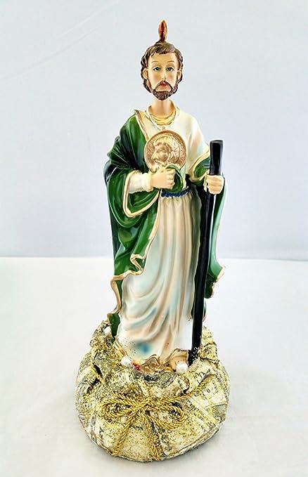 amazon com 10 5 inch statue of saint jude san judas tadeo estatua