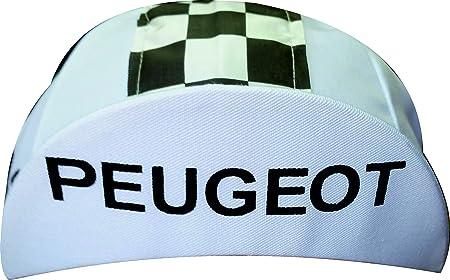 Peugeot Radm/ütze Radlercap Retro Blau