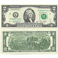 Rare United States of America USA 2 Dollars Note UNC 2009 Jefferson Letter K