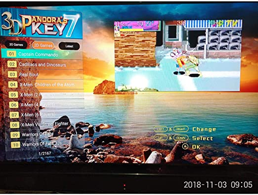 Ksruee 10inches Pandoras Box Consola de Videojuegos Arcade de Pantalla Dual 3D 2177 Juegos N64 PS1: Amazon.es: Hogar