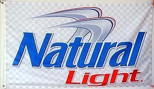 Annfly Miller Lite Natural Light Beer Flag 3X5FT Banner