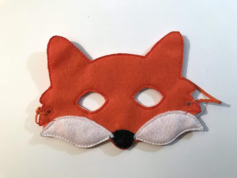Kids Felt Fox Animal Mask