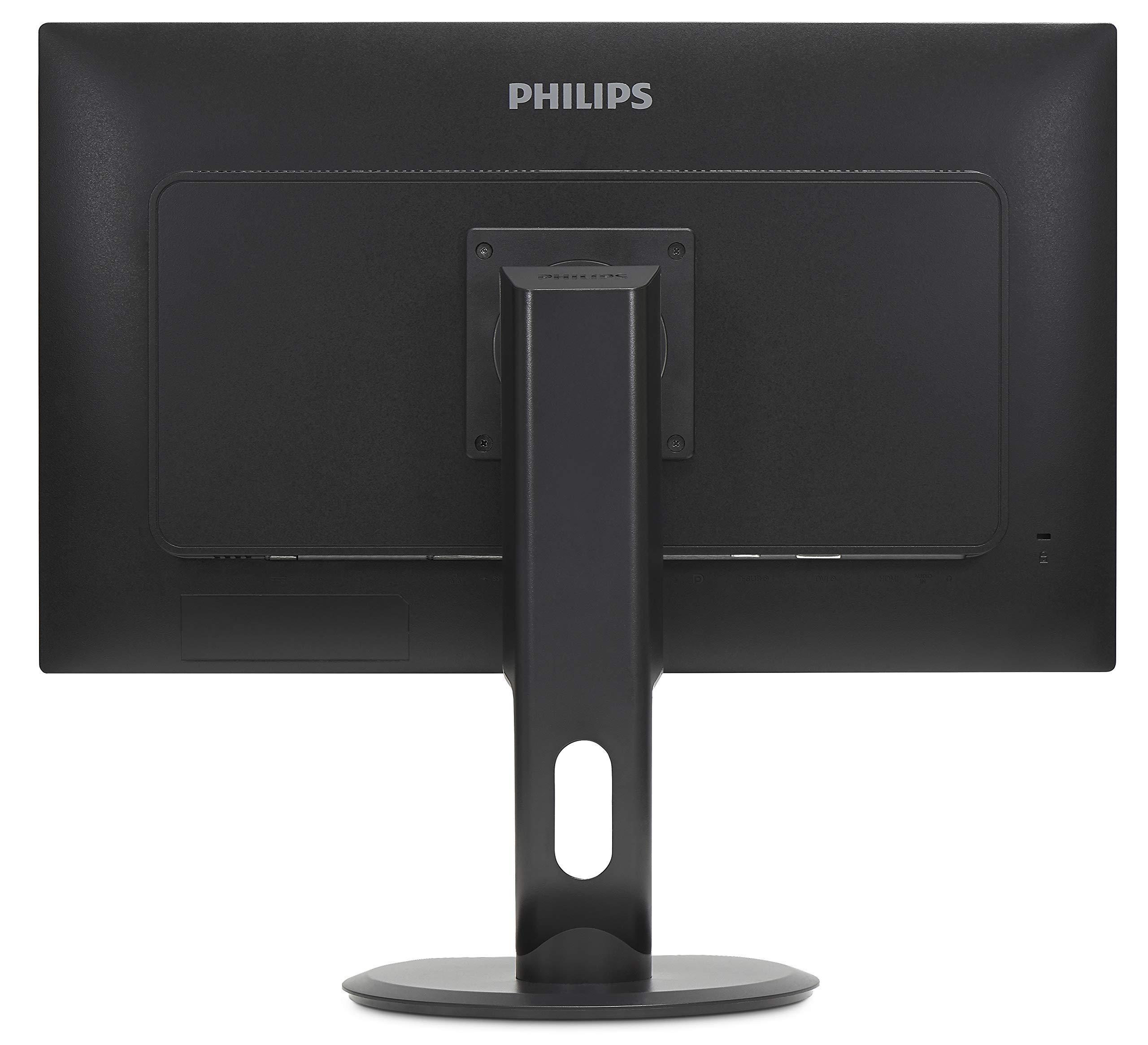 "Philips 276E8FJAB 27"" Class IPS Slim LED Monitor, 2560 x 1440, 350cd/m2, 4ms, Speakers, VGA, DisplayPort, HDMI 7"