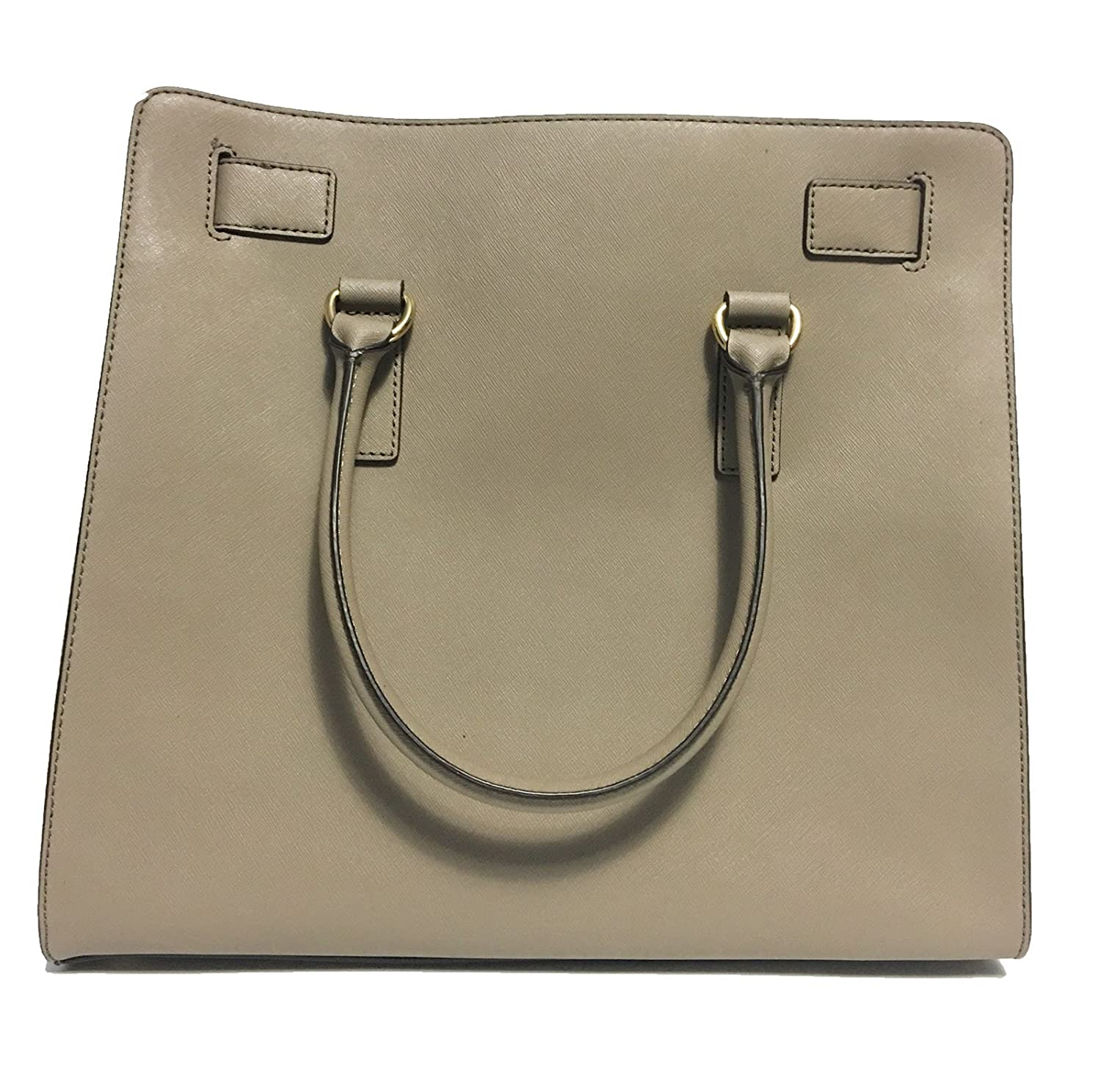 Amazon.com  MICHAEL Michael Kors Hamilton North South Tote (Dark Taupe)   Shoes 00758209a4f
